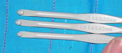 Agujas. Medidas de aguja europea y americana
