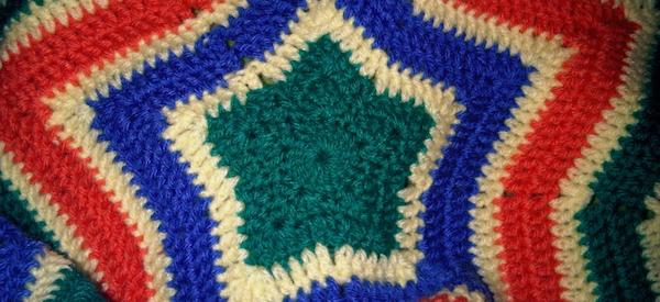 Estrella de crochet – Alfombra