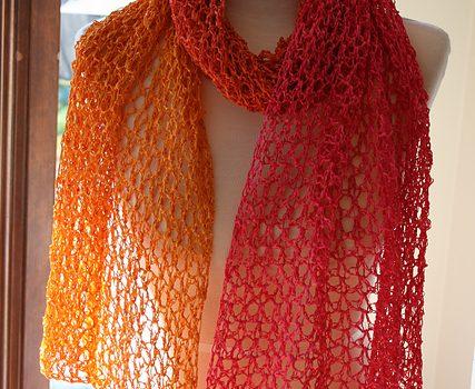 Chal a crochet – Sherbet Wrap