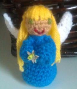 Patron de angel en crochet