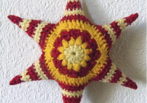 Estrellas Hexágonos – Patrón Crochet