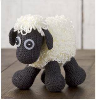 Oveja Amigurumi a Crochet