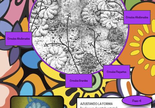 CAPITULO 3: Círculos – Curso: Aprende Free Form Crochet