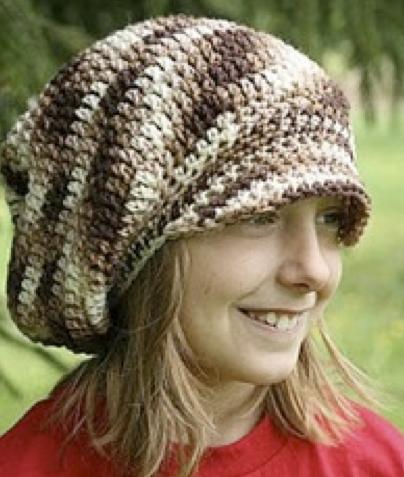 El Gran Gorro Marrón – Patrón Crochet – Hasta el Monyo