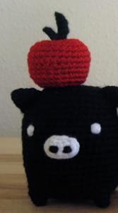 Patron de manzana a crochet
