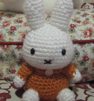Conejita Miffy – Patrón a crochet