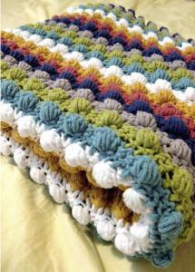 Patrón de manta bebe a crochet