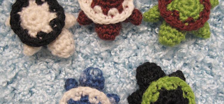 Tortuguita a crochet