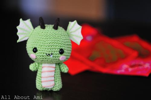 Dragoncito amigurumi – Patrón crochet