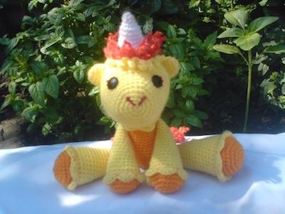 Las fotos del Unicornio de Nathygurumiando