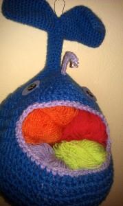 patrón del pez traga lanas