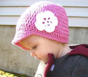 patrón de gorro a crochet