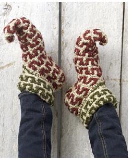 Zapatillas Elficas