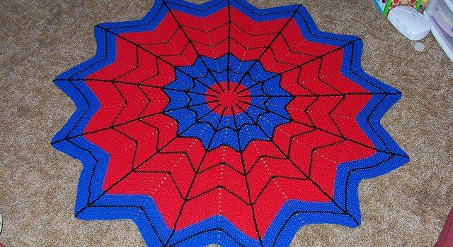 Manta Super héroe especial para admiradores de Spiderman