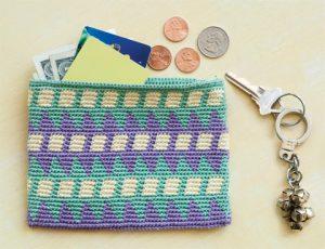 patrón de la cartera a crochet