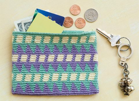 Cartera Tapíz – Patrón a crochet