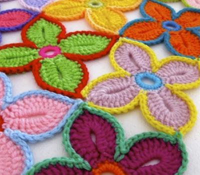 Flor Hawaiana – Patron a crochet