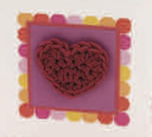 Patron a crochet: Mini corazones