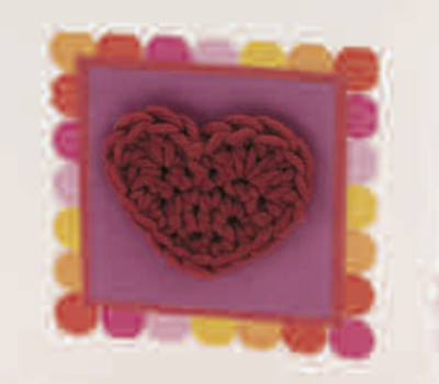 Mini Corazones – Patrón a crochet