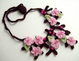 Patron collar a crochet