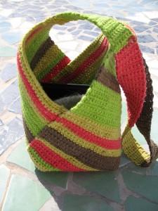 Patron del bolso a crochet