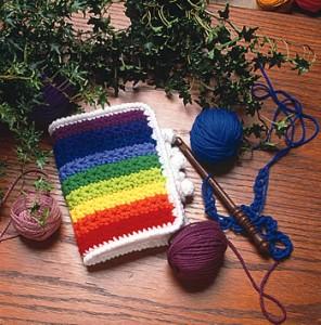 Patron del porta agujas a crochet