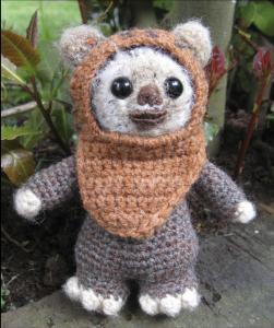 patron ewok en español - crochet