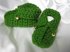 patron de las botitas elficas - crochet