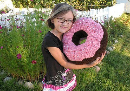 Donut a ganchillo