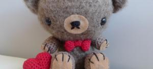 Osito de San Valentin – Amigurumi crochet
