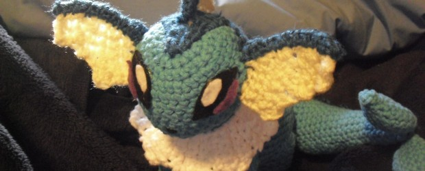 Vaporeon – Pokemon a crochet