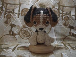 patrón del perrito a crochet