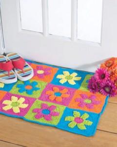patron crochet de la alfombra