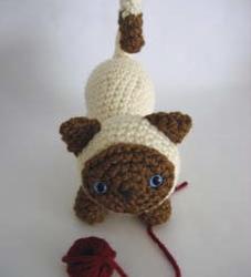 Gatito Amigurumi número 2 – Patrón a crochet