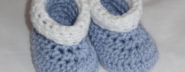 Patucos Enrollados – Patrón a crochet en español