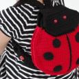 Os presento este patrón de una mochila en forma de mariquita muy original. La...