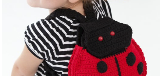 Mochila Mariquita – Patrón a crochet