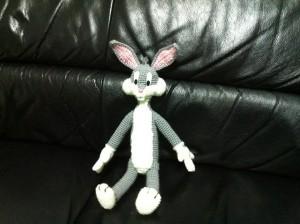 Amigurumi Bugs Bunny! patron a crochet Hasta el Monyo