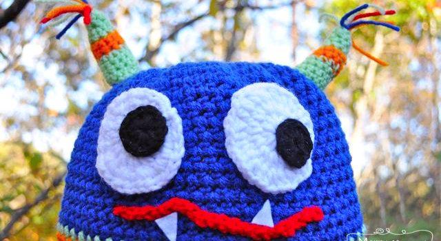 Gorro Monstruo! – Patrón a crochet