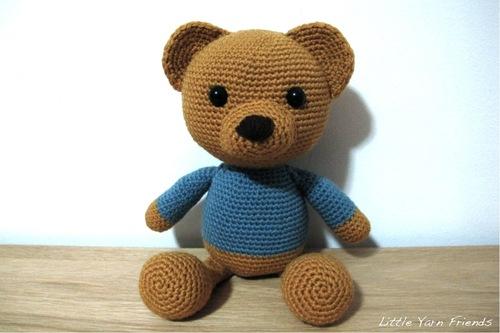 Osito de peluche a crochet