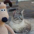 Hola fanátic@s de los ganchos!! Empezamos la semana con este precioso Gromit, el prota canino...
