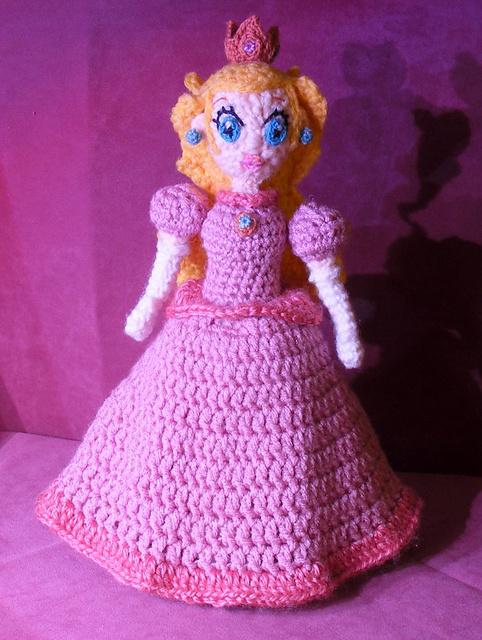 Patrón Princesa Peach