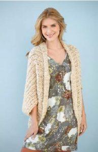 Jersey sencillo a crochet