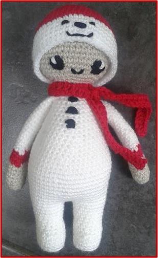 Noo Noo muñeco de nieve