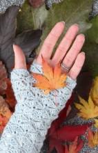 Mitones o guantes sin dedos