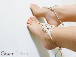 Sandalias pie descalzo
