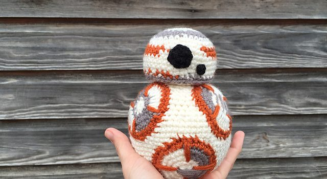 Amigurumi BB-8 de Star Wars